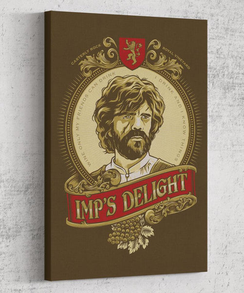 Imp`s Delight Canvas by COD Designs - Pixel Empire