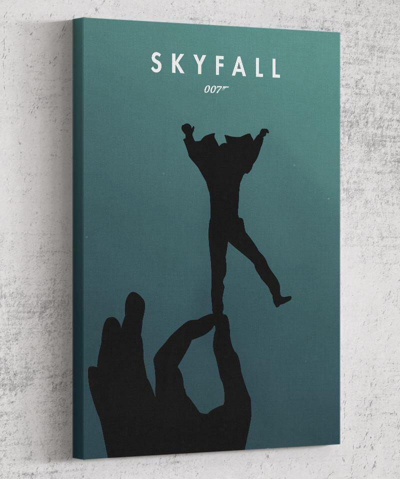 Skyfall Depths Canvas by Dylan West - Pixel Empire