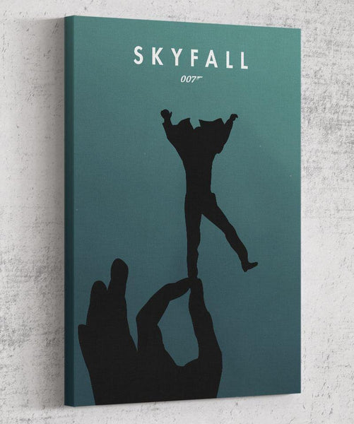Skyfall Depths Canvas by The Pixel Empire - Pixel Empire
