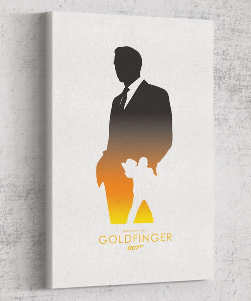 Goldfinger Canvas by The Pixel Empire - Pixel Empire