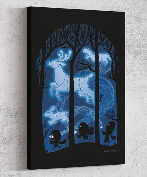 Race of the Patronuses Canvas by Anna-Maria Jung - Pixel Empire