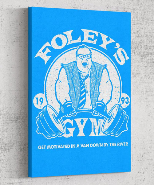Motivational Gym Canvas by COD Designs - Pixel Empire