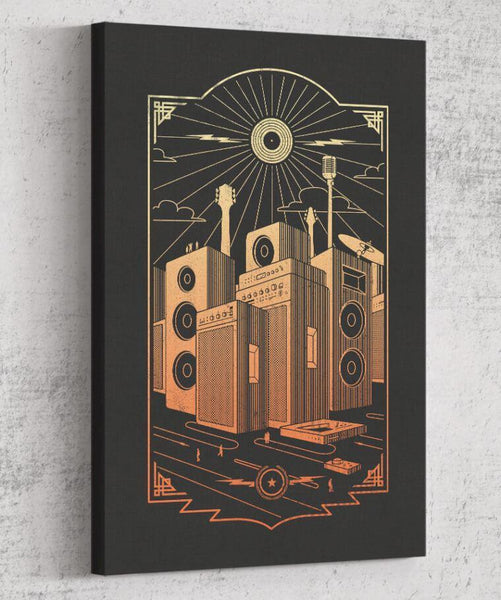 Sound City Canvas by Grant Shepley - Pixel Empire