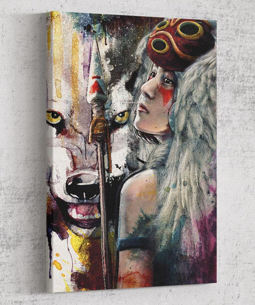 Mononoke Canvas by Barrett Biggers - Pixel Empire