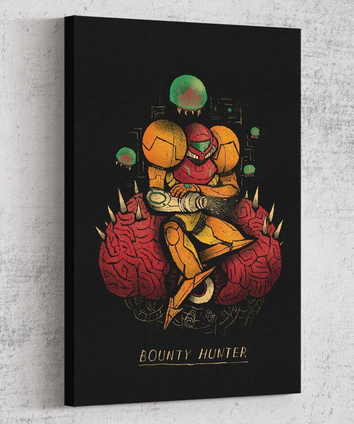 Bounty Hunter Canvas by Louis Roskosch - Pixel Empire