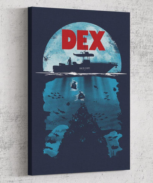 Dex Canvas by Olipop - Pixel Empire