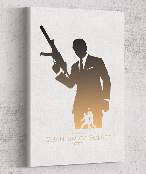 Quantum of Solace Canvas by The Pixel Empire - Pixel Empire
