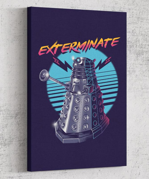 Exterminate Canvas by Vincent Trinidad - Pixel Empire