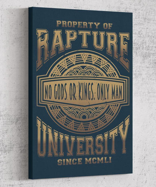 Rapture University Canvas by Legendary Phoenix - Pixel Empire