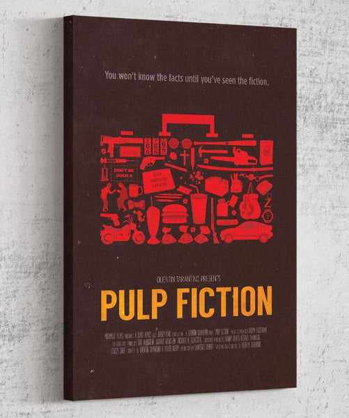 Pulp Fiction Canvas by The Pixel Empire - Pixel Empire