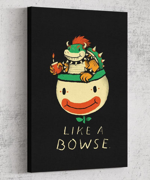 Like a Bowse Canvas by Louis Roskosch - Pixel Empire