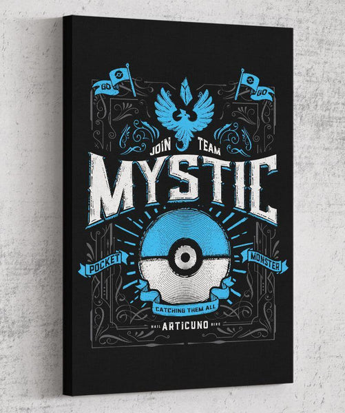 Team Mystic Canvas by Barrett Biggers - Pixel Empire