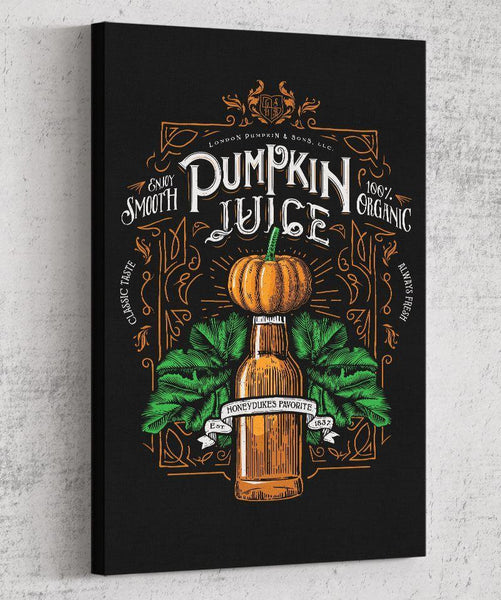 Pumpkin Juice Canvas by Barrett Biggers - Pixel Empire