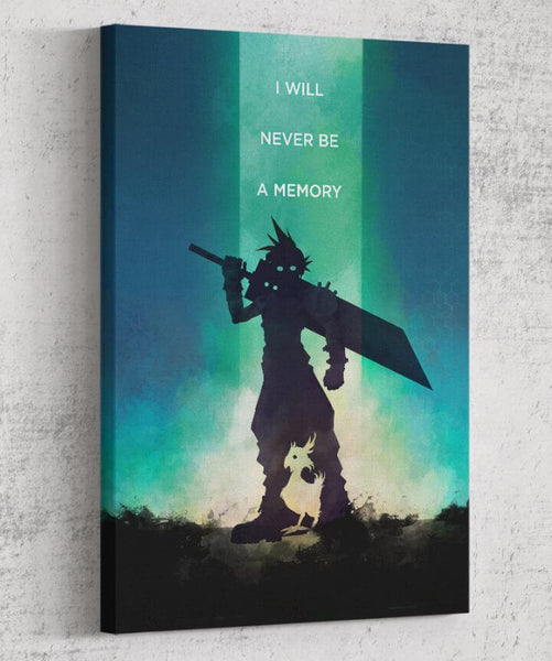 Final Fantasy VII - I Will Never Be a Memory Canvas by The Pixel Empire - Pixel Empire