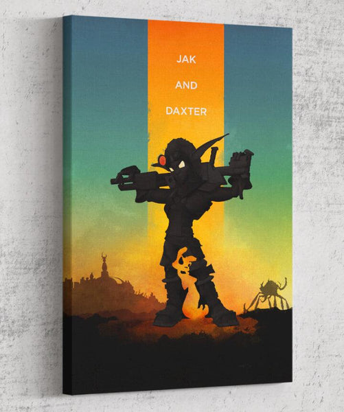 Jak & Daxter Canvas by The Pixel Empire - Pixel Empire