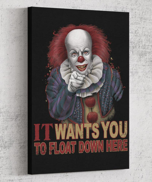 Float Down Here Canvas by Saqman - Pixel Empire