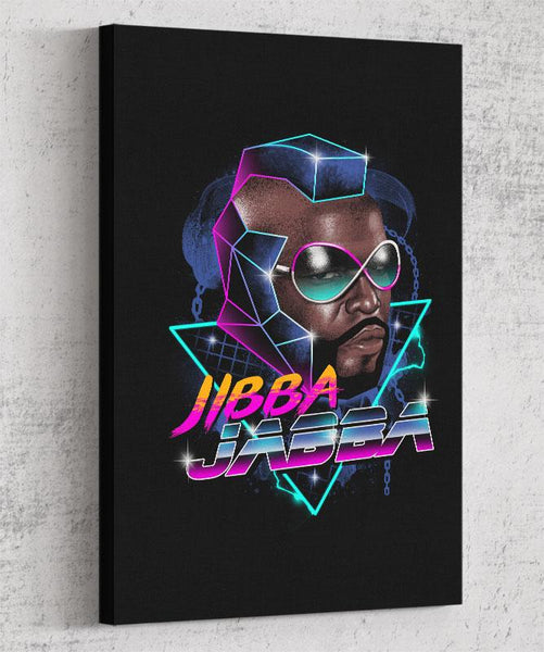 Jibba Jabba Canvas by Vincent Trinidad - Pixel Empire
