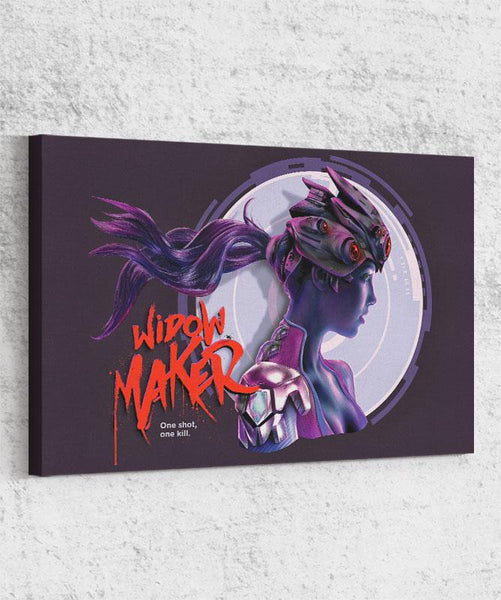 Widow Maker Canvas by Barrett Biggers - Pixel Empire