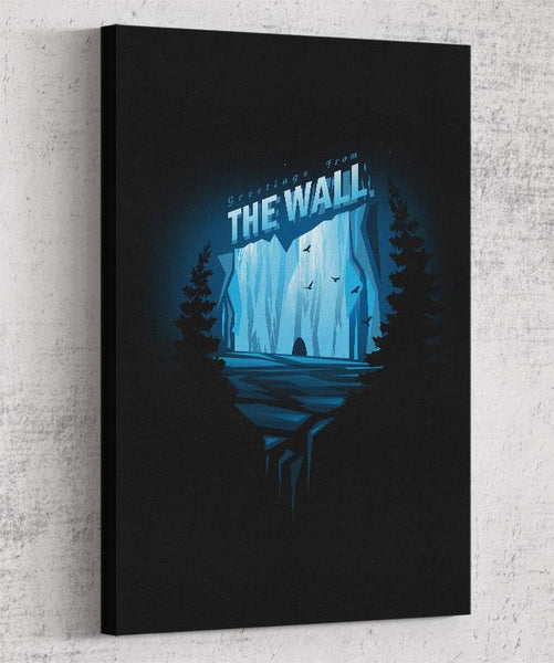 The Wall Canvas by Alyn Spiller - Pixel Empire
