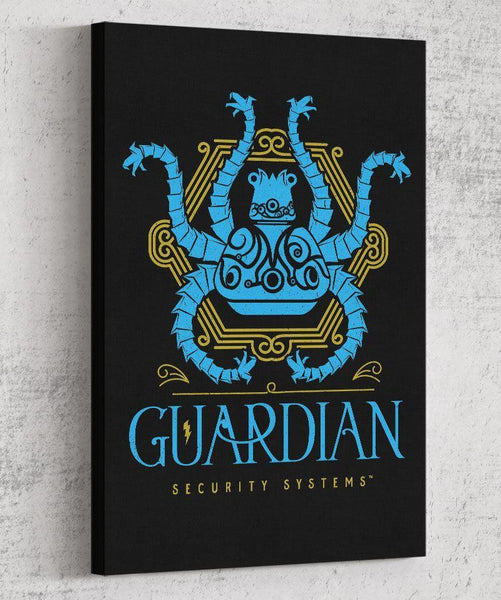 Guardian Security Systems Canvas by Barrett Biggers - Pixel Empire