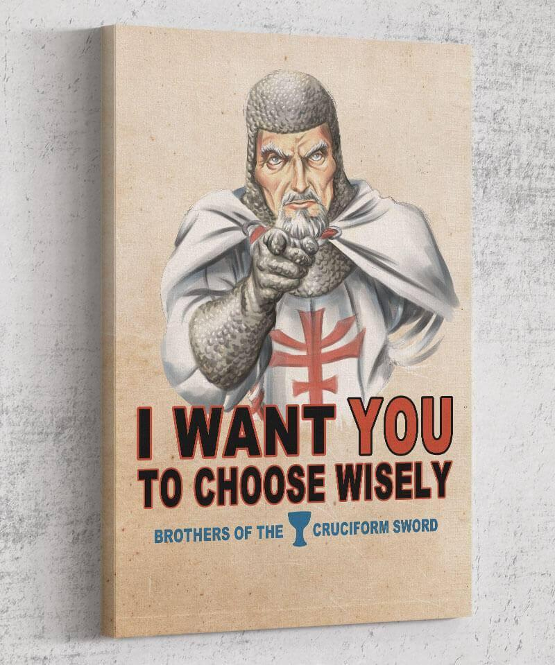 Choose Wisely Canvas by Saqman - Pixel Empire