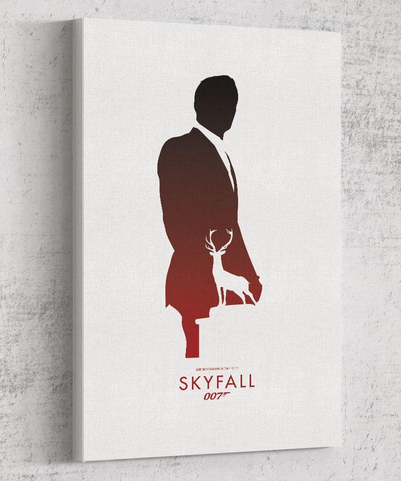 Skyfall Canvas by Dylan West - Pixel Empire