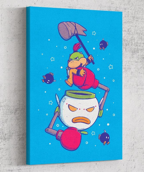 The Little & Evil Prince Canvas by Sergio Paucar - Pixel Empire