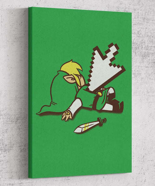 Dead Link Canvas by COD Designs - Pixel Empire