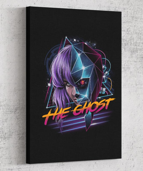 Cyber Ghost Canvas by Vincent Trinidad - Pixel Empire