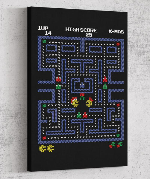 Pacman Fever Canvas by COD Designs - Pixel Empire