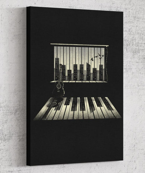 Music is Life Canvas by Dan Elijah Fajardo - Pixel Empire