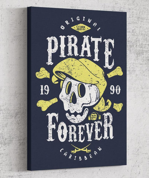 Pirate Forever Canvas by Olipop - Pixel Empire