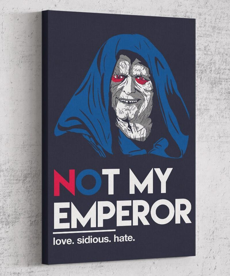 Not My Emperor Canvas by Legendary Phoenix - Pixel Empire