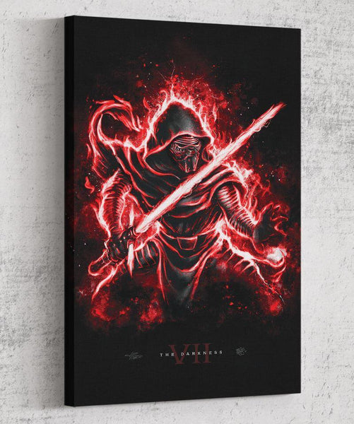 The Darkness Canvas by Barrett Biggers - Pixel Empire