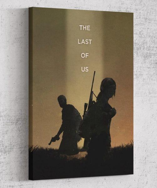 The Last of Us Canvas by The Pixel Empire - Pixel Empire