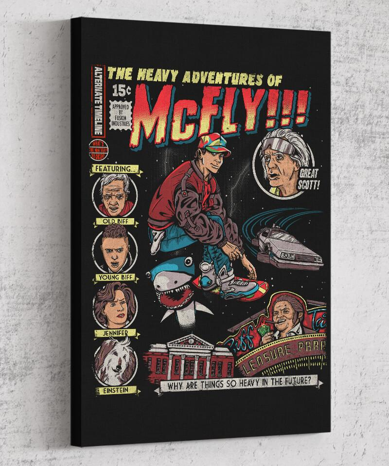 Heavy Adventures Canvas by COD Designs - Pixel Empire