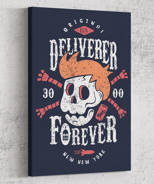 Deliverer Forever Canvas by Olipop - Pixel Empire