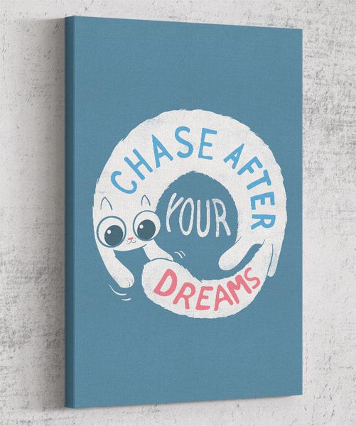 Chase After Your Dreams Canvas by Anna-Maria Jung - Pixel Empire