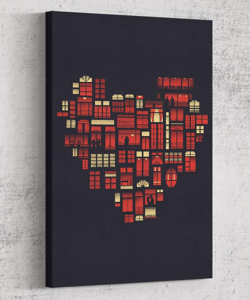 Home is Where the Heart Is Canvas by Dan Elijah Fajardo - Pixel Empire