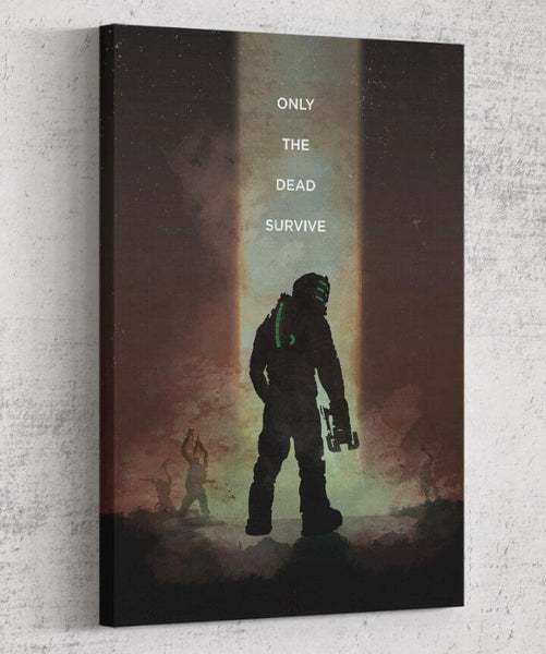 Dead Space - Only the Dead Survive Canvas by The Pixel Empire - Pixel Empire