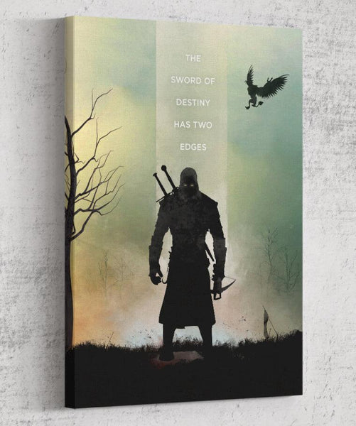 The Witcher - Sword of Destiny Canvas by The Pixel Empire - Pixel Empire