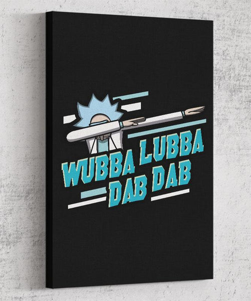 Wubba Lubba Dab Dab Canvas by Olipop - Pixel Empire