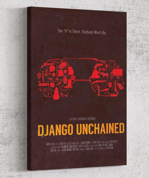 Django Unchained Canvas by The Pixel Empire - Pixel Empire