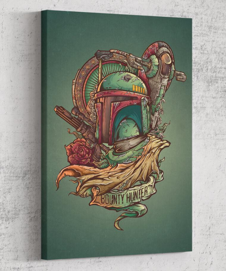Bounty Hunter Canvas by Juan Manuel Orozco - Pixel Empire