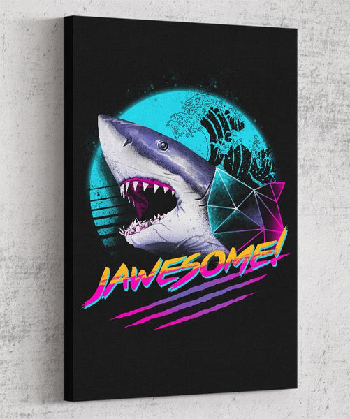 Jawesome Canvas by Vincent Trinidad - Pixel Empire
