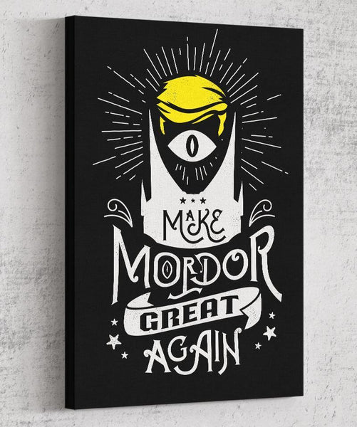 Make Mordor Great Again Canvas by Barrett Biggers - Pixel Empire