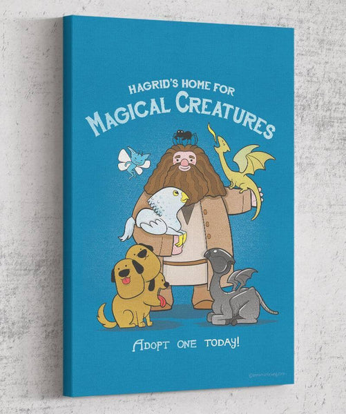 Hagrid's Home For Magical Creatures Canvas by Anna-Maria Jung - Pixel Empire