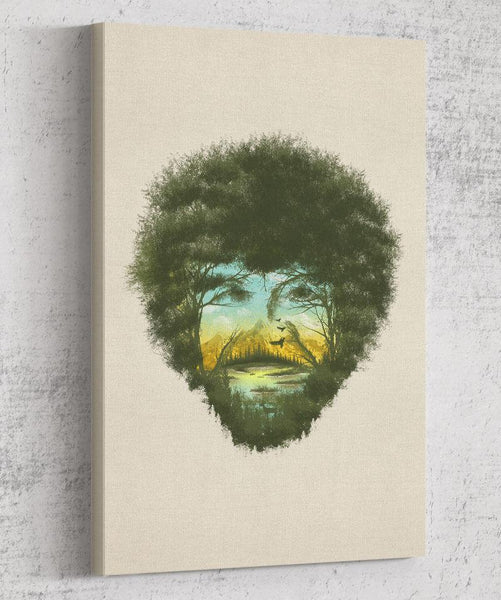 Happy Trees Canvas by Dan Elijah Fajardo - Pixel Empire