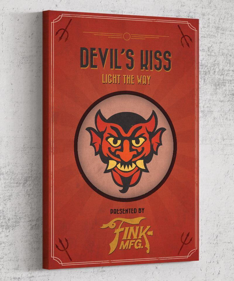 Bioshock Vigor Devil's Kiss Canvas by Dylan West - Pixel Empire