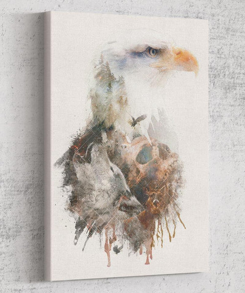 Eagle Has Landed Canvas by Barrett Biggers - Pixel Empire